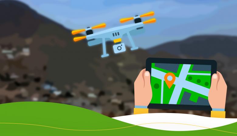 comisaria de flor de amancaes cuenta con drone
