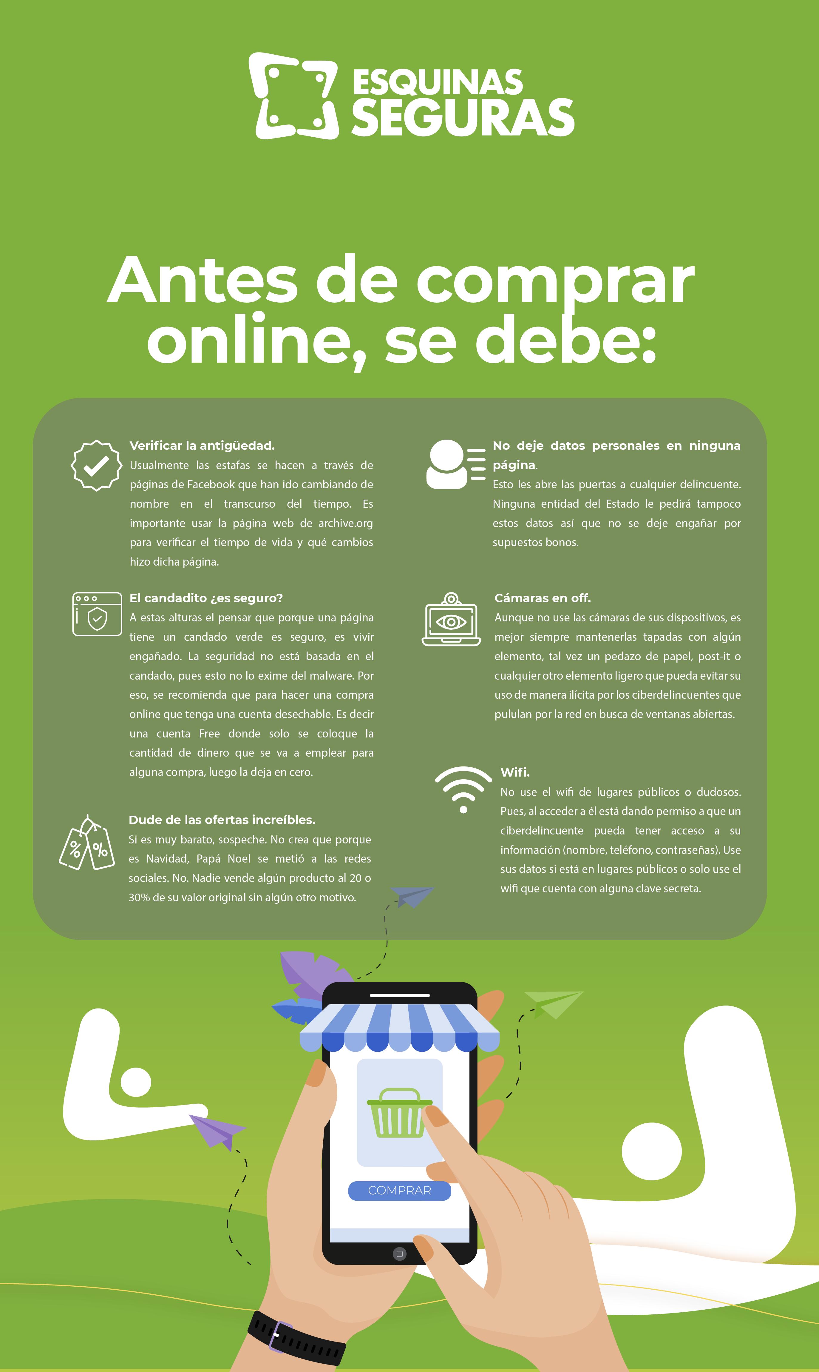 recomendaciones antes de comprar online